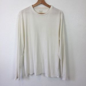 Banana Republic Fitted Long Sleeve T-Shirt Size L